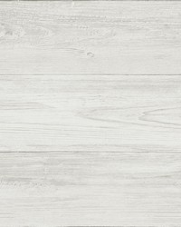 Thatcher Off-White Wood Wallpaper by