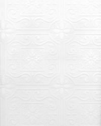 Ibold Paintable Tile Wallpaper by  Brewster Wallcovering