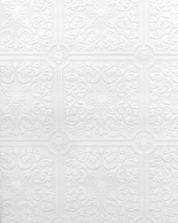 Nico Paintable Tile Wallpaper by  Brewster Wallcovering