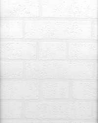 Bridgers Paintable Brick Wallpaper by