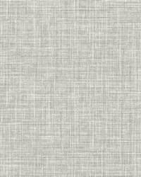 Poise Grey Linen Wallpaper by