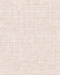 Poise Pink Linen Wallpaper by
