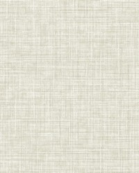 Poise Beige Linen Wallpaper by