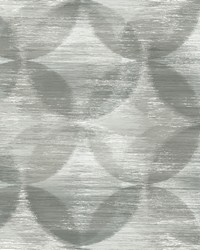 Alchemy Grey Geometric Wallpaper by