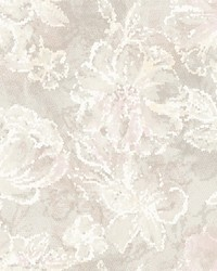 Allure Blush Floral Wallpaper by