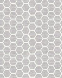 Aura Lavender Honeycomb Wallpaper by