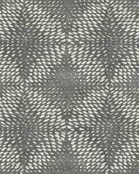 Ethos Pewter Abstract Wallpaper by