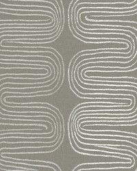 Zephyr Brown Abstract Stripe Wallpaper by
