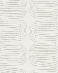Zephyr Grey Abstract Stripe Wallpaper by