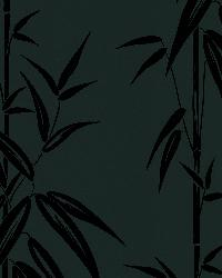 Saharan Black Bamboo Stalk by  Brewster Wallcovering