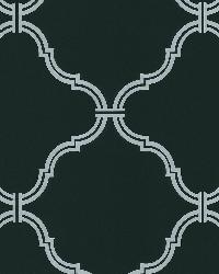 Estate Black Moroccan Grate by  Brewster Wallcovering