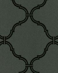 Estate Brown Moroccan Grate by  Brewster Wallcovering