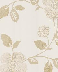 Poppy Beige Modern Floral by  Brewster Wallcovering
