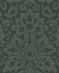 Mirza Brown Damask by  Brewster Wallcovering