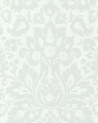 Mirza White Damask by  Brewster Wallcovering