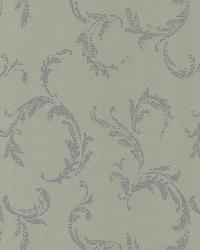 Plume Brass Scroll by  Brewster Wallcovering