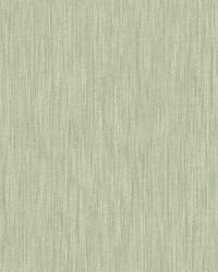 Chenille Sage Faux Linen Wallpaper by