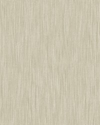 Chenille Light Brown Faux Linen Wallpaper by