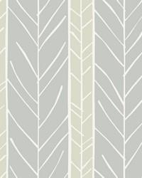 Lottie Grey Stripe Wallpaper by