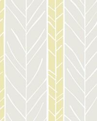 Lottie Yellow Stripe Wallpaper by