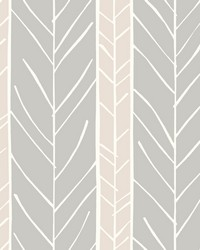 Lottie Rose Stripe Wallpaper by