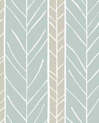 Lottie Slate Stripe Wallpaper by