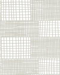 Maxwell Grey Geometric Wallpaper by