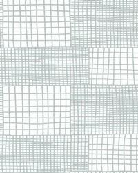 Maxwell Aqua Geometric Wallpaper by