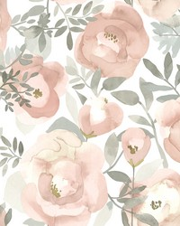 Orla Rose Floral Wallpaper by