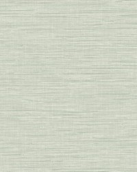 Exhale Teal Faux Grasscloth Wallpaper by