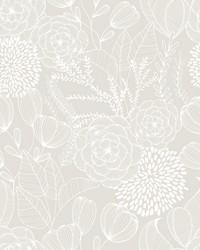Alannah Bone Botanical Wallpaper by