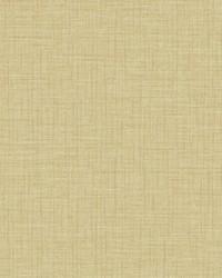 Jocelyn Yellow Faux Linen Wallpaper by