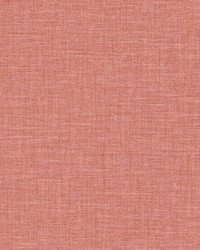 Jocelyn Pink Faux Linen Wallpaper by