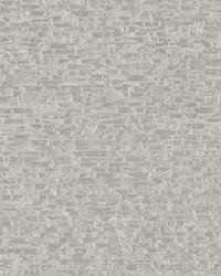 Belvedere Grey Faux Slate Wallpaper by