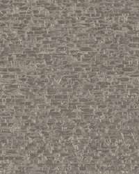 Belvedere Taupe Faux Slate Wallpaper by