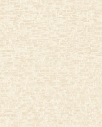 Belvedere Cream Faux Slate Wallpaper by