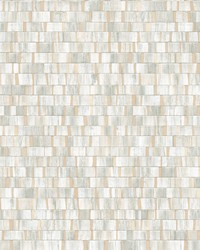 Dobby Champagne Geometric Wallpaper by