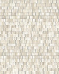 Dobby Cream Geometric Wallpaper by