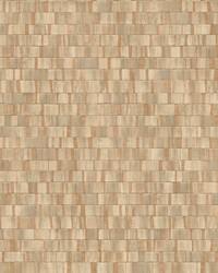 Dobby Copper Geometric Wallpaper by