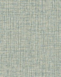 Rattan Teal Woven Wallpaper by