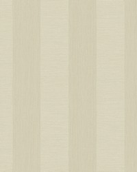 Intrepid Champagne Faux Grasscloth Stripe Wallpaper by