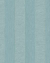 Intrepid Aqua Faux Grasscloth Stripe Wallpaper by