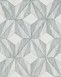 Paragon Slate Geometric Wallpaper by