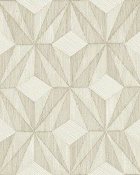 Paragon Gold Geometric Wallpaper by