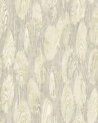 Monolith Light Yellow Abstract Wood Wallpaper by