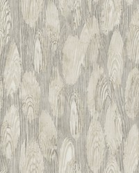 Monolith Grey Abstract Wood Wallpaper by
