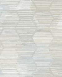 Jabari Grey Geometric Faux Grasscloth Wallpaper by