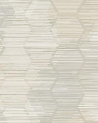 Jabari Wheat Geometric Faux Grasscloth Wallpaper by
