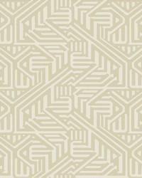 Nambiti Cream Geometric Wallpaper by
