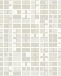 Bantry Neutral Geometric Wallpaper by